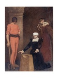 The Execution of Mary Queen of Scots, Fotheringay Castle, February Eighth, 1587 Giclee Print by Sir James Dromgole Linton