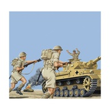 The Battle of El Alamein Giclee Print by John Keay