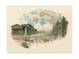 St. George's Hall and Lime Street, Liverpool Giclee Print by Charles Wilkinson