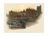 Lambeth Palace, from the Bridge Giclee Print by Charles Wilkinson