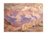 Grand Canyon, 1927 Gicléetryck av Gunnar Widforss