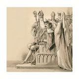 Coronation of Bruce Giclee Print by  English School