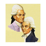 Joseph and Jacques Montgolfier Giclee Print by Severino Baraldi