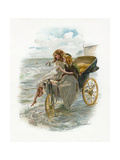 The Sea, Floy, What Is it That it Keeps Saying Giclee Print by John Henry Frederick Bacon