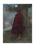 The Earl of Bothwell at Night Watching the Solitary House Called Kirk-O-Field Giclee Print by Sir James Dromgole Linton
