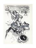Gladiator Giclee Print by Angus Mcbride