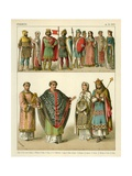 French 900 AD Giclee Print by Albert Kretschmer