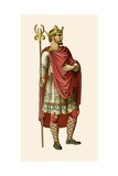 Anglo Saxon King Giclee Print by Albert Kretschmer