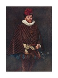 Mary's Half-Brother, Lord James Stuart, More Widely known as Earl Murray Giclee Print by Sir James Dromgole Linton