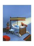 Sleeping Beauty Giclee Print by  English School
