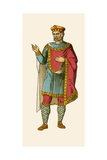 Emperor Charlemagne Giclee Print by Albert Kretschmer