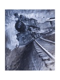 Southern Railway of America Disaster Giclee Print by Graham Coton