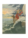 Great Britain - Rule Britannia Giclee Print by  JOB (Jacques Onfray de Breville)
