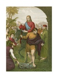 Jesus Christ's Entry into Jerusalem Giclee Print by  English School