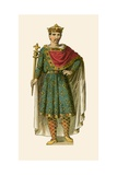 Charles the Bald Giclee Print by Albert Kretschmer
