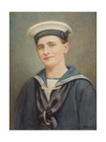 Portrait of a Sailor, c.1915-35 Giclee Print by George Phoenix