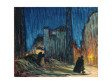 Boulevard Raspail, 1907 Giclee Print by Roderic O'Conor