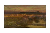 Afterglow in Italy - Evening, 1909 Giclee Print by Matthew Ridley Corbet