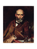 Michael Davitt, Mp Giclee Print by Sir William Orpen