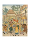 China - National Song Giclee Print by  JOB (Jacques Onfray de Breville)