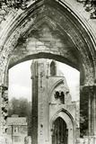 Glastonbury Abbey, c.1920 Photographic Print