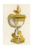 Cup, in Her Majesty's Collection at Windsor, c 1530 Giclee Print by Henry Shaw