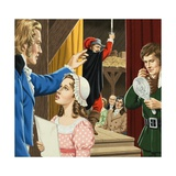 Jane Austen, and Amateur Dramatics Giclee Print by John Keay
