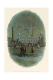 Municipal Buildings, George Square, Glasgow Giclee Print by Charles Wilkinson
