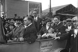 Garibaldi Brothers Arriving in Gare de Lyon, Paris, 1914 Photographic Print by Jacques Moreau