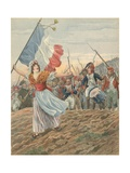 France - La Marseillaise Giclee Print by  JOB (Jacques Onfray de Breville)