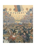 Russia - National Song Giclee Print by  JOB (Jacques Onfray de Breville)