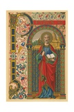 St Peter Giclee Print by  English School