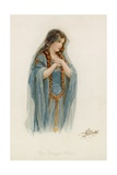 The Beggar Maid Giclee Print by Frances Brundage
