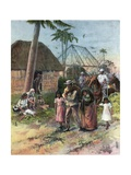 Starvation by Proclamation in Cuba Giclee Print by William Allen Rogers