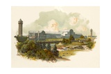 The Crystal Palace, Sydenham Giclee Print by Charles Wilkinson