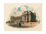 Parliament House, Melbourne Giclee Print by Charles Wilkinson