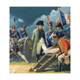Napoleon Engaged in Military Planning Giclee Print by Severino Baraldi