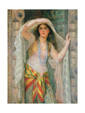 Sofie - One of Three Females of Baghdad, 1900 Giclee Print by William Clarke Wontner