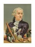 Antoine-Laurent de Lavoisier Giclee Print by Josep or Jose Planella Coromina
