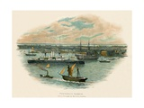 Portsmouth Harbour Giclee Print by Charles Wilkinson