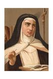 Saint Teresa of Jesus Giclee Print by Ricardo Marti