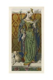Saint Agnes, c 1520, from a Picture by Lucas Van Leyden Giclee Print by Henry Shaw