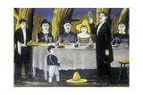 Family Company, 1907 Giclee Print by Niko Pirosmani