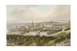 New Town Edinburgh Giclee Print by  English School