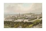 New Town Edinburgh Giclee Print by  English School