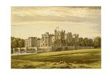 Raby Castle Giclee Print by Alexander Francis Lydon