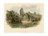 Hastings Castle Giclee Print by Charles Wilkinson