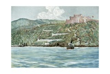 The Entrance to Santiago Harbor, July 7, 1898 Giclee Print by Carlton T. Chapman