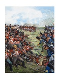 The Battle of Waterloo, 1815 Giclee Print by Clive Uptton