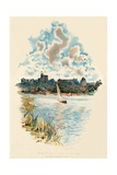 Windsor Castle from the Brocas Giclee Print by Charles Wilkinson